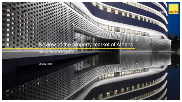 Review of the Property Market of Athens, 2019