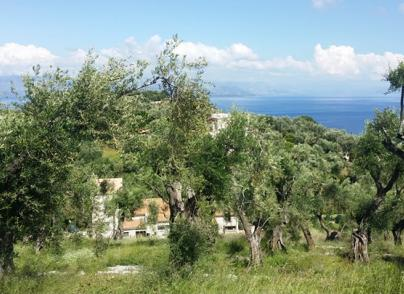 Land plot in great position with breathtaking sea view
