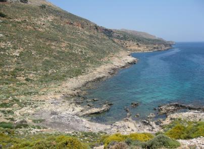 Land plot on the seaside