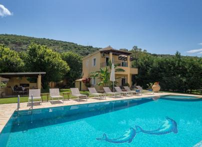 Private beachfront residence