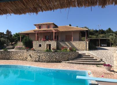 Villa with the biggest pool in Lefkada