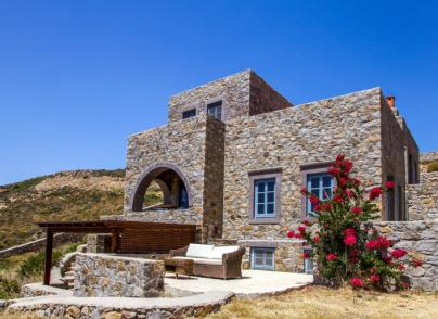 Two stone built villas in private location