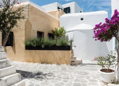 Restored traditional Cycladic house