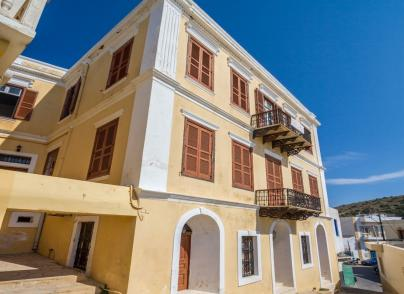 Neoclassical house in Leros