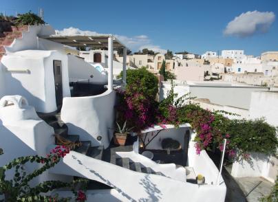 Cycladic-style house