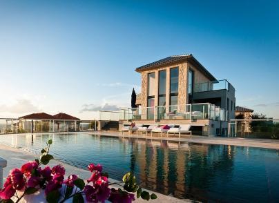 Beautiful designer villa by the sea