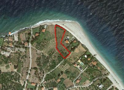 Sea front land plot
