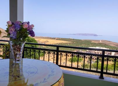 Large family villa with panoramic views
