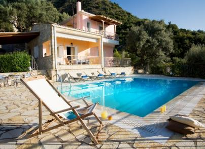 Villa with breath-taking sea views