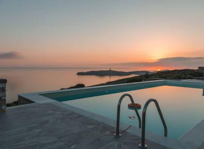 A villa enjoying outstanding panoramic views