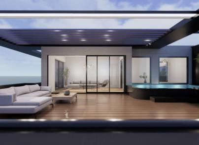Luxury Penthouse in a new development