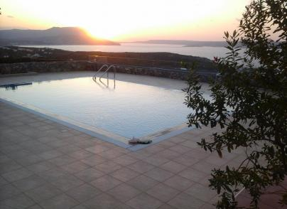 Villa with traditional features, enjoying beautiful views