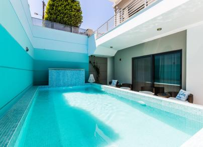 Boutique Hotel with panoramic views in Rethymno