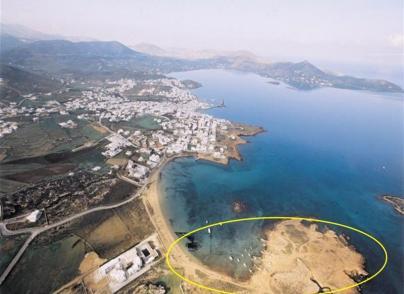 Beachfront plots on sandy beach with development potential