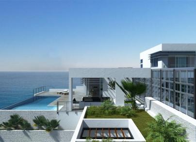 Modern seafront development of 6 luxury villas
