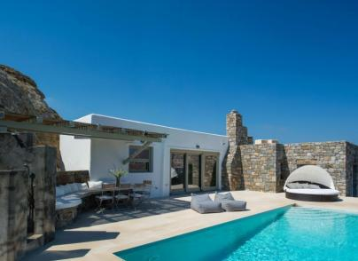 Four Villa complex with Aegean views