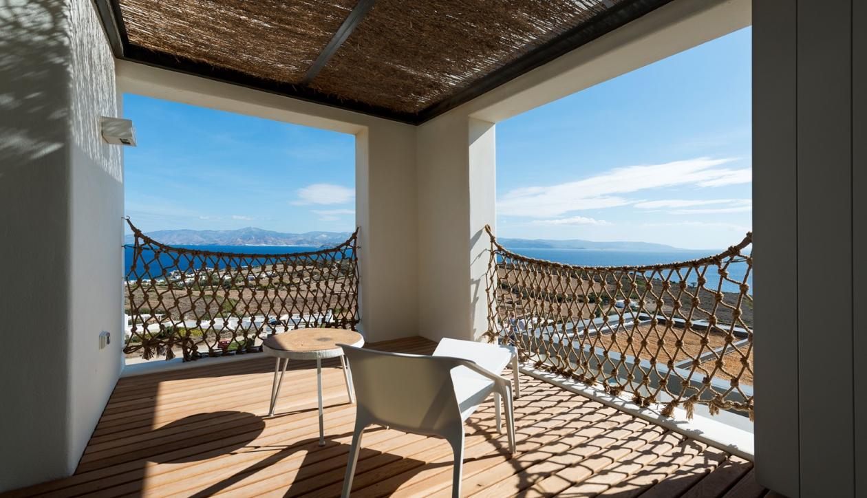 Great views villa in Paros island