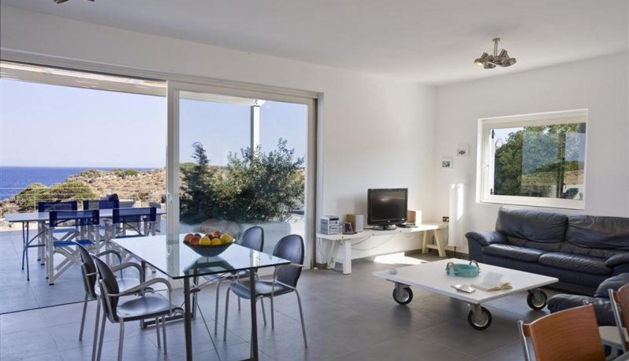 Luxury seafront villas with private beach