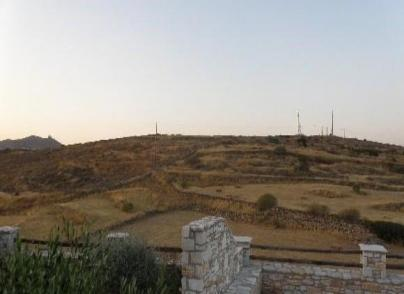 Land plot in Syros island