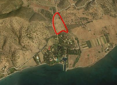 Large land plot for development