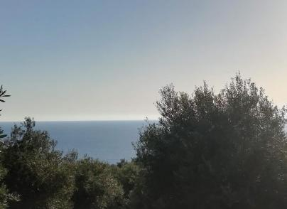 Land plot with sea view sited in South Corfu