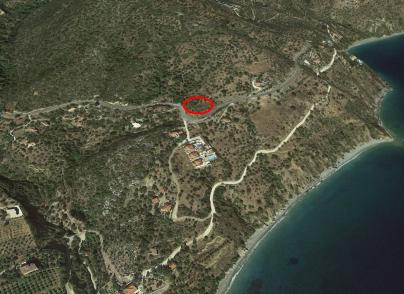 Land plot with panoramic sea views