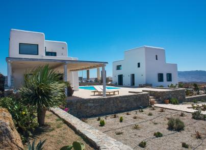 A villa blending traditional Myconian living with modern comforts
