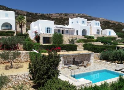 Great views villa in Paros island