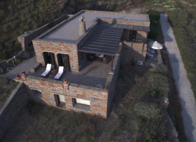 Water-front, stone built villa