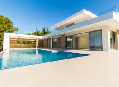 Two stunning holiday villas of modern architecture