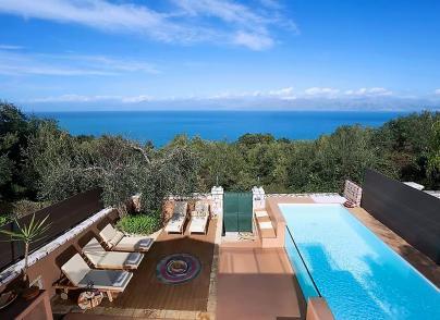 Unique estate with private beach