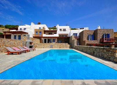 Mykonian style villa under the Cycladic sun