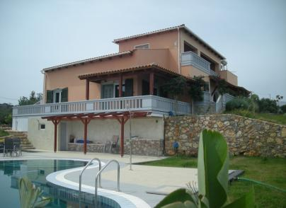 Villa with panoramic views