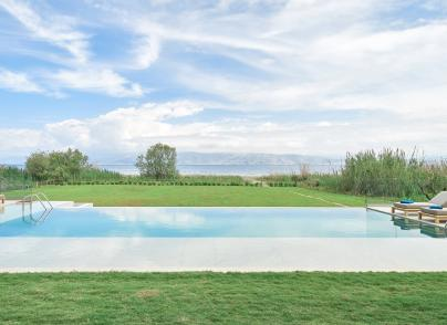 An exceptional brand new villa just a short walk from the sea