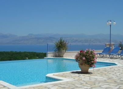 Elegant villa embraced by the Ionian Sea