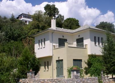 Traditional architecture of Pelion house
