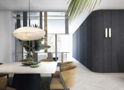 Lush and aristocratic, brand new apartment
