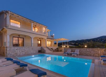 Holiday house with views located in the village of Kassiopi
