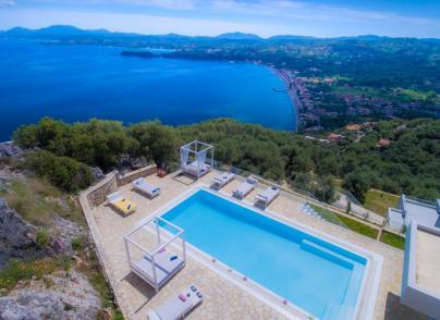 Brand new villa with breathtaking views