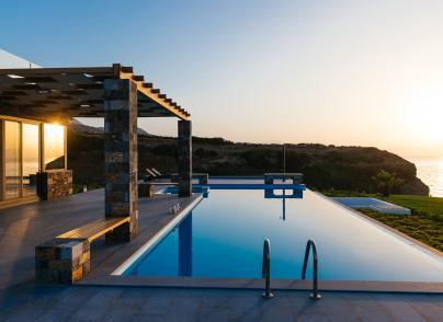 Hideaway, beachfront villa