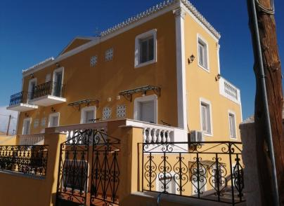 Beautiful pension with local architectural style
