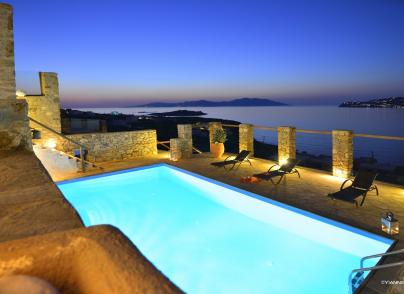 Villa in one of the most panoramic sides of Mykonos