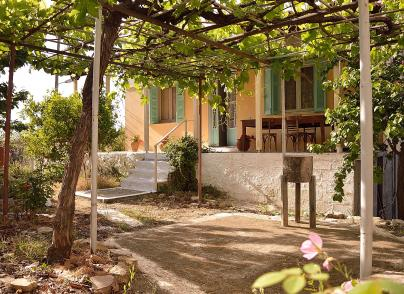 Traditional village house in Peloponnese