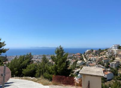 Landplot in Panorama, Voula with sea views