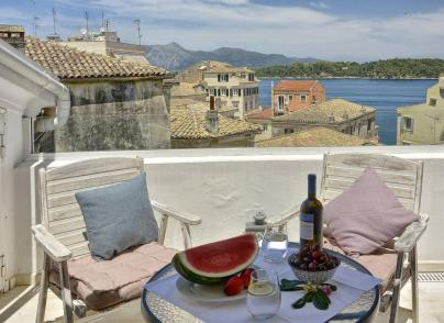 Venetian style house in the heart of Corfu old town