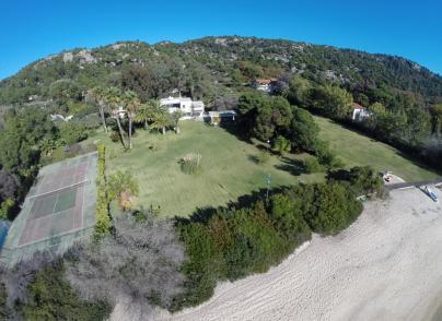Unique beachfront property