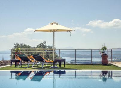 Contemporary architecture, high level interior design and breathtaking views